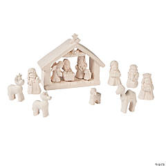 DIY Mini Nativity Set