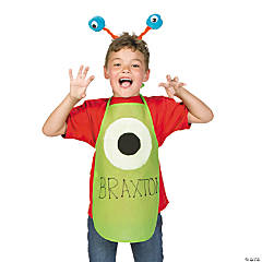 DIY Monster Aprons Idea