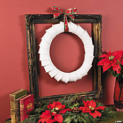 DIY Paper Cup Wreath Idea