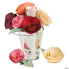 DIY Paper Flowers Idea