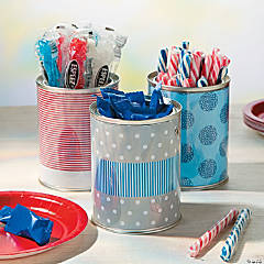 DIY Patriotic Buckets Idea
