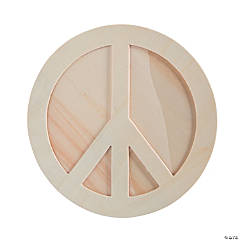 DIY Peace Sign Picture Frames