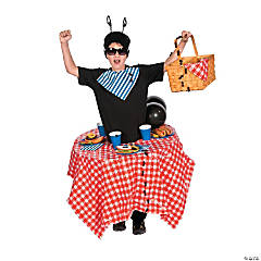 DIY Picnic Table Ant Costume Idea