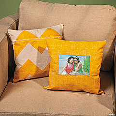 DIY Pillow Cover Idea