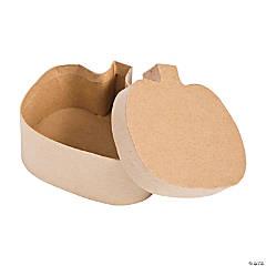DIY Pumpkin-Shaped Boxes