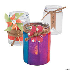 DIY Rainbow Jars Idea