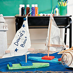 DIY Sailboat Project Idea