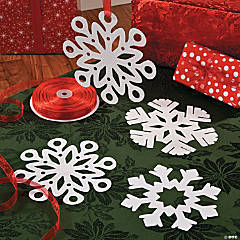 DIY Snowflake Cut Outs Idea