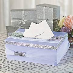 DIY Tulle Wedding Cardbox Idea