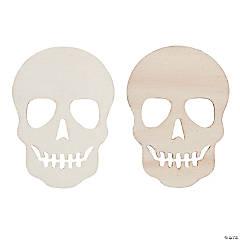 DIY Unfinished Wood Skull Shapes
