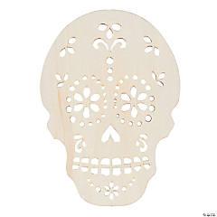DIY Unfinished Wood Sugar Skull Heads