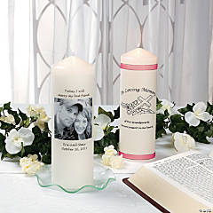 DIY Unity or Memory Candle Idea