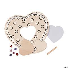 DIY Valentine Picture Frame Craft Kit
