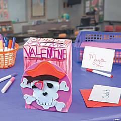 DIY Valentine Pirate Box Idea