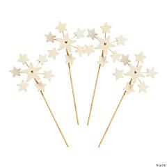 DIY Wood Mini Star Pinwheels