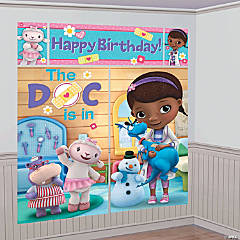 Doc McStuffins Backdrop Set