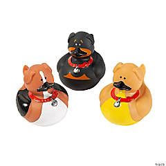Dog Rubber Duckies