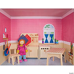 Doll House Rooms: The Kitchen