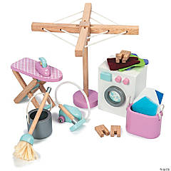 Dollhouse Laundry Room Set