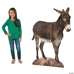 Donkey Nativity Cardboard Stand-Up