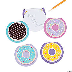 Donut Party Notepads