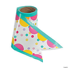 Donut Party Plastic Streamer