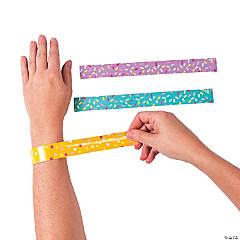 Donut Party Sprinkles Slap Bracelets