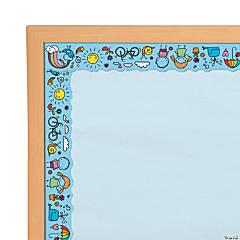 Doodle Bulletin Board Borders