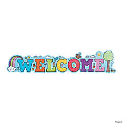 Doodle Welcome Banner