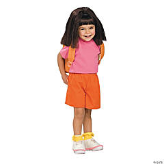 Dora Deluxe Toddler Kid's Costume