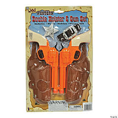 Double Holster & Gun Set