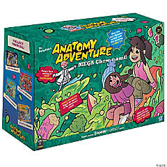 Dr. Bonyfide's Anatomy Adventure, Mega Chew Nami (The Digestive System)