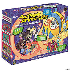 Dr. Bonyfide's Anatomy Adventure, Mission: Inhalable! (The Lungs)