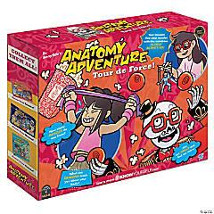 Dr. Bonyfide's Anatomy Adventure, Tour de force (The Muscular System)