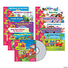 Dr. Jean Sing Along & Read Along with CD