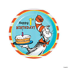 Dr. Seuss™ 1st Birthday Paper Dinner Plates