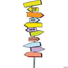 Dr. Seuss™ Blank Street Signs Bulletin Board Set