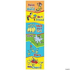 Dr. Seuss™ Class Rules Vertical Banner