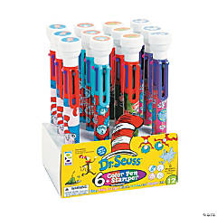 Dr. Seuss™ 6-Color Shuttle Pens with Stamper