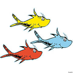 Dr. Seuss™ Fish Bulletin Board Accents