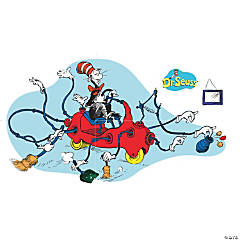Dr. Seuss™ Giant Cat in Car Bulletin Board Decoration