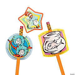 Dr. Seuss™ Lenticular Sticker Pencil Toppers