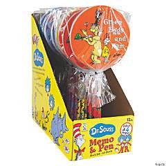 Dr. Seuss™ Memo Pads with Pen
