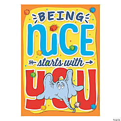 Dr. Seuss<sup>&#8482;</sup> Horton Hears a Who<sup>&#8482;</sup> Being Nice Poster