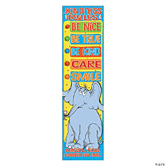 Dr. Seuss<sup>&#8482;</sup> Horton Hears a Who<sup>&#8482;</sup> Kindness Rules Vertical Banner
