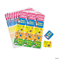 Dr. Seuss™ The Cat in the Hat™ Reading Stickers