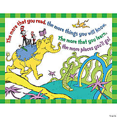 Dr. Seuss™ The More You Read Poster