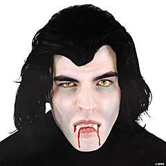 Dracula Wig Deluxe Mask