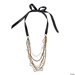 Draped Chain Necklace Idea