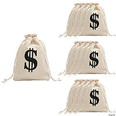 Drawstring Money Bags